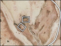 Satelietfoto van Atlantis?
