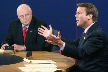 Dick Cheney en John Edwards