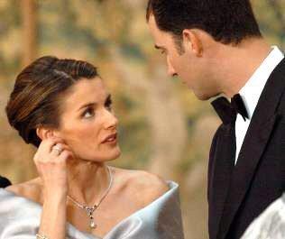 Huwelijk prins Felipe & Letizia Ortiz