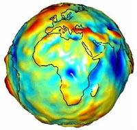 Zwaartekracht op aarde in beeld gebracht