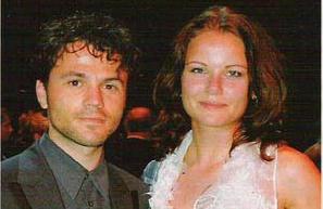 Angela Schijf met haar man Tom van Landuyt