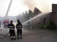 Brand in Tilburg