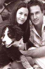 Courteney Cox en haar man