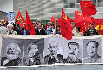 1-mei-demonstratie Rotterdam