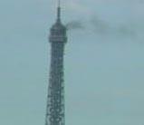 Brand in de Eiffeltoren