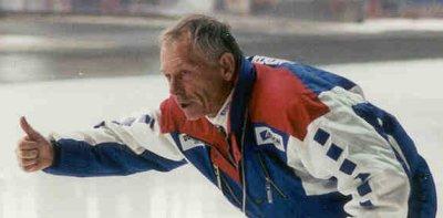 Ex-schaatscoach Henk Gemser