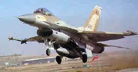Israëlische F16