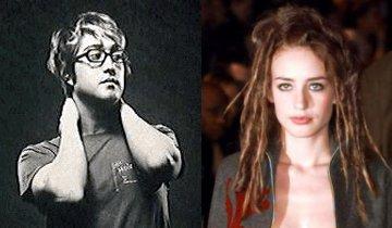 Sean Lennon en Elizabeth Jagger