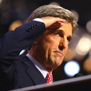 John Kerry, reporting fo duty