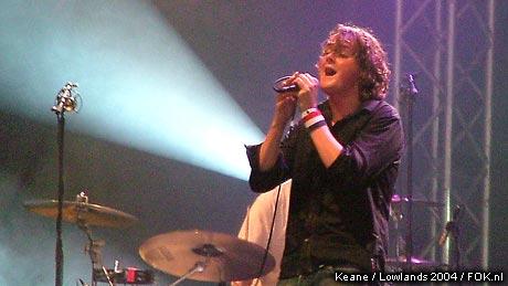 Keane op Lowlands 2004