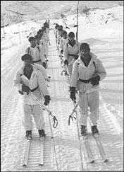Mariniers op oefening