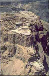 Het fort Masada