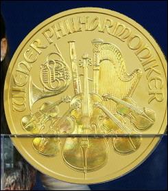 Een Oostenrijks muntstuk van ruim 31 kilo
