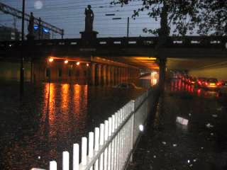Noodweer in Eindhoven