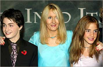 Harry - schrijfster J.K. Rowling - Hermelien