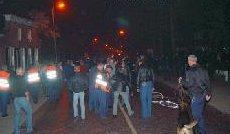 Onrust in Staphorst, jongeren willen een huis in brand steken