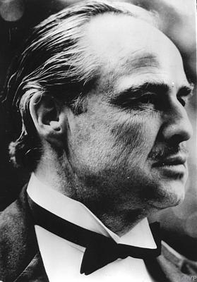 Don Vito Corleone gespeeld door Marlon Brando